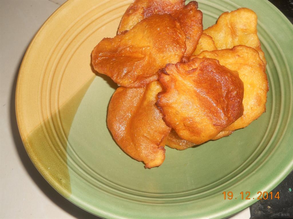 炸油糕三角图片