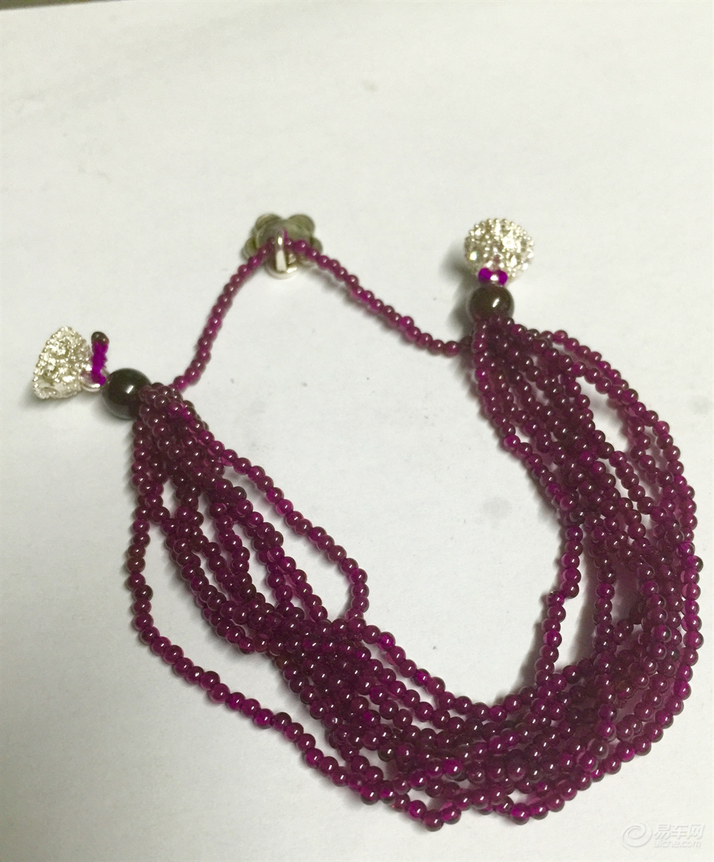 精美的石榴石红绳手链,简单的编绳教程,有必要为... _网易视频