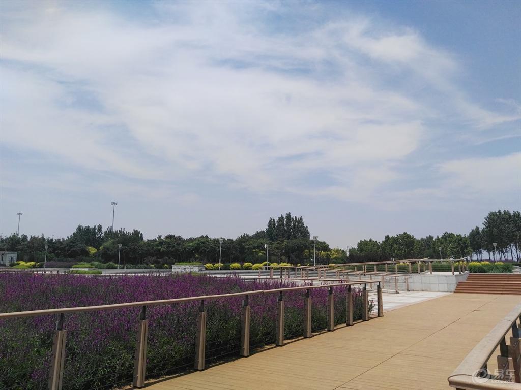 天津东疆港风景区沙滩