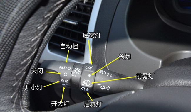 您好,不同的车型在不同的位置,但是图标都是相同的,一般跟大灯开关连
