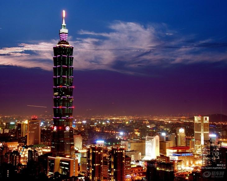 易车网 自驾游 目的地 台湾 台北101大楼  5星 去过 (51)想去 (21)图片