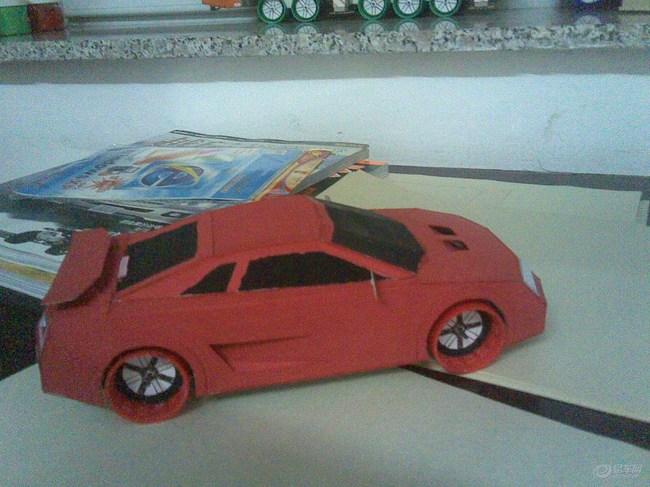 纸壳汽车步骤图解