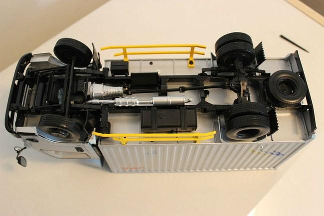 模型汽车结构图