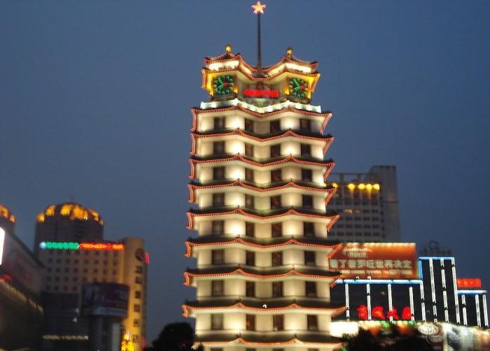 【二七纪念塔风景图片