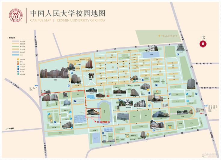 人民大学地图