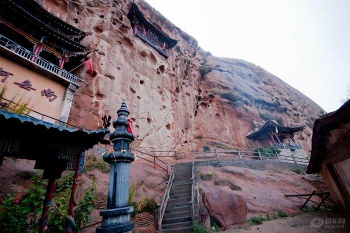 马蹄寺图片