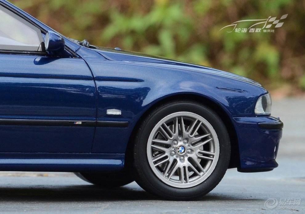 .1 外拍之 BMW M5 广告