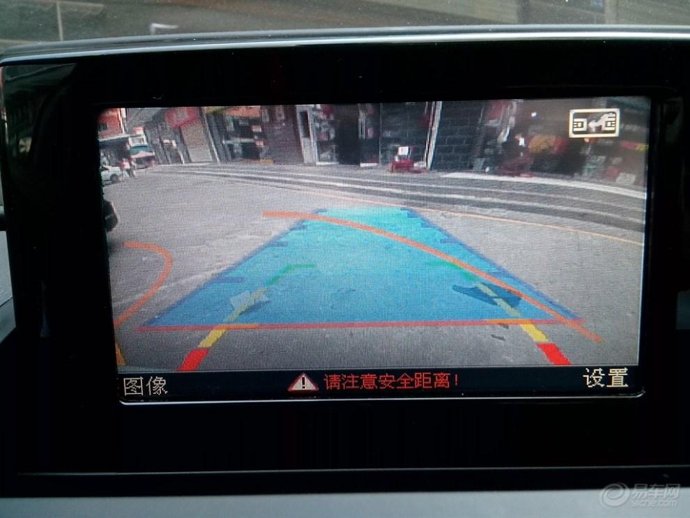 奥迪q3升级凯立德地图导航,精准倒车轨迹,蓝牙全程作业图