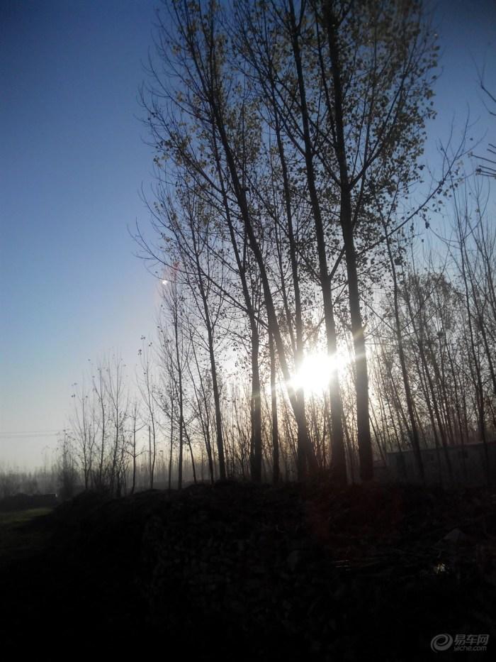 【【原创】初冬的早晨】 山东车友会