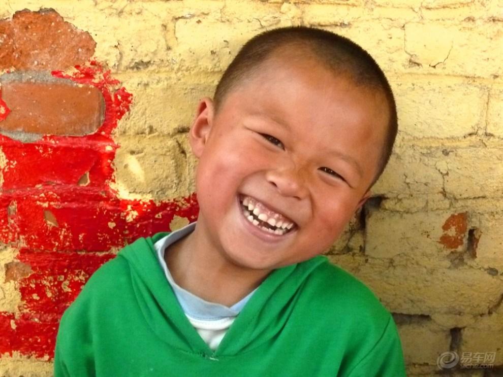 可爱笑脸图片孩子