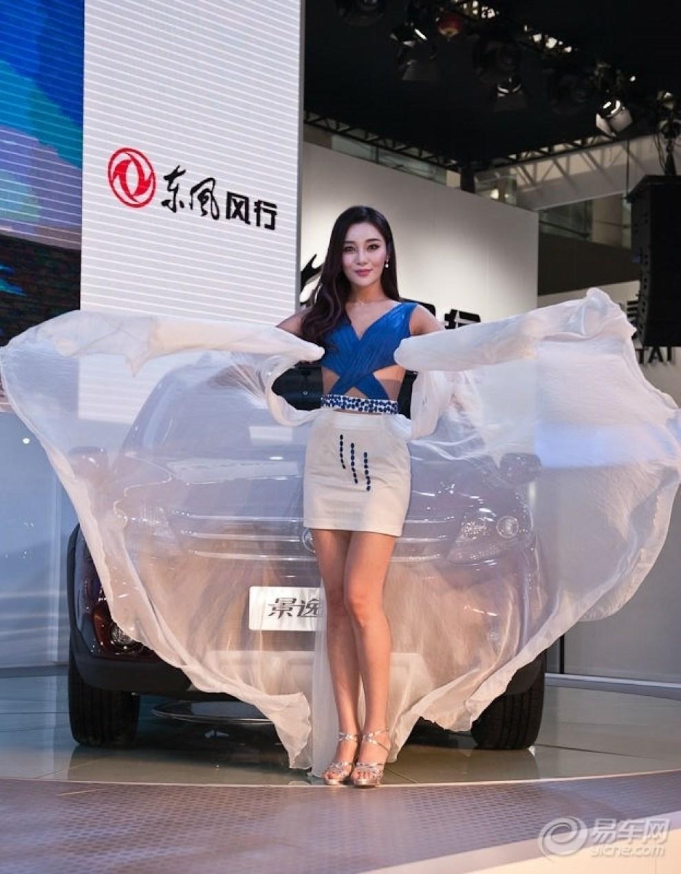 【【广州车展拍客】屌丝眼中的美女模特】 摄
