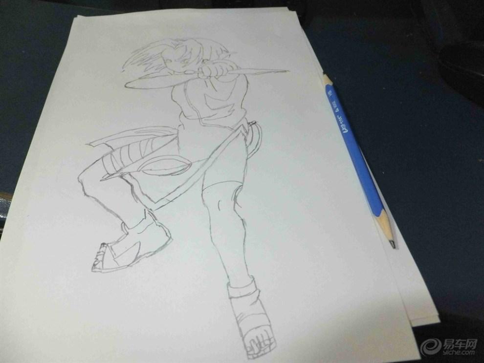 【【涂鸦漫画季】第四弹火影忍者】_湖北漫画于峰论坛图片