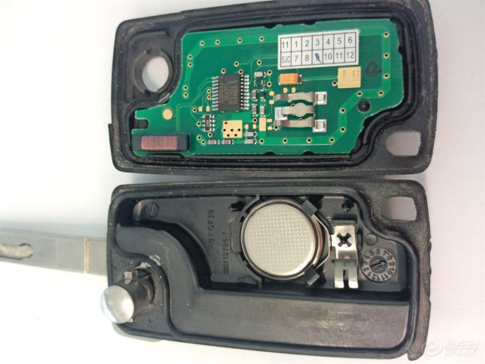 【遥控钥匙电池的更换】_标致307论坛图片集锦_汽车