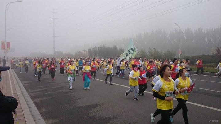 2014天津武清国际马拉松