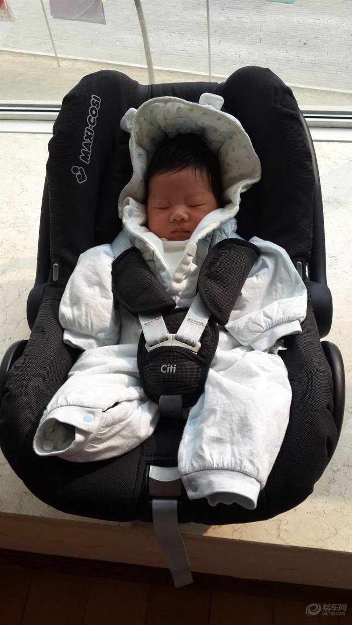 【BABY IN CAR】 03年毕加索+儿童安全座椅