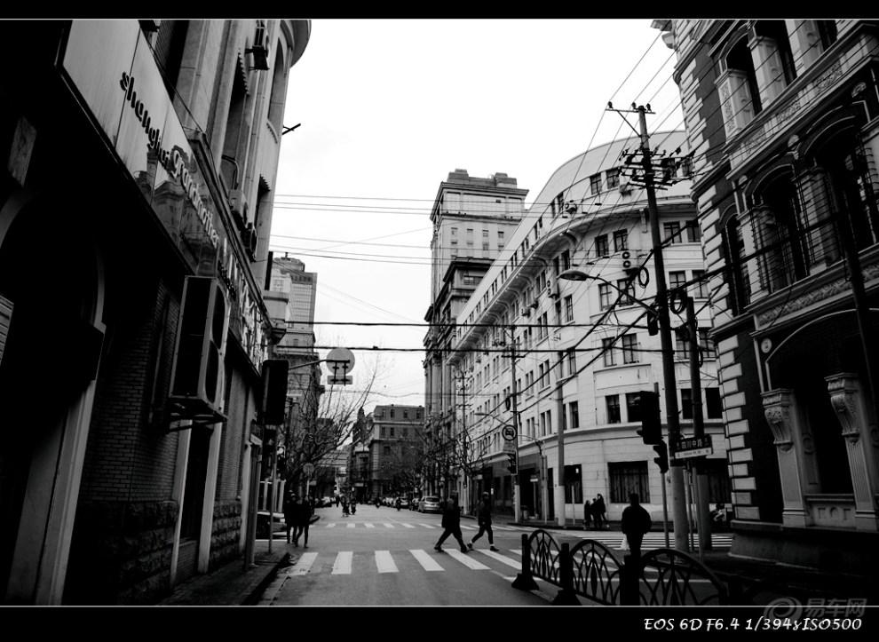 【风景】上海--黑白片