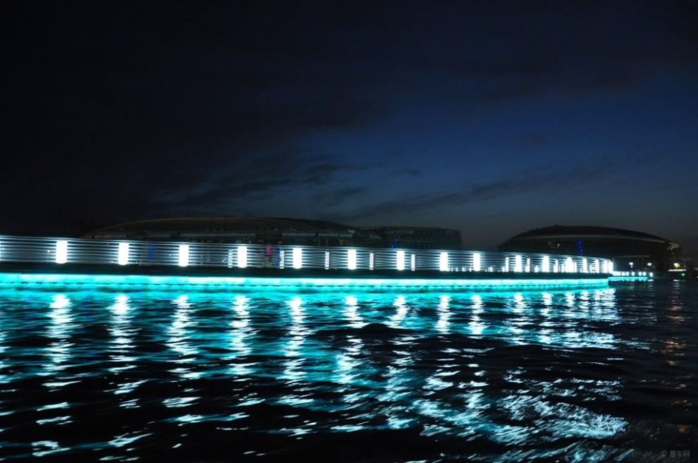 边疆处处赛江南,夜游山水梨城库尔勒