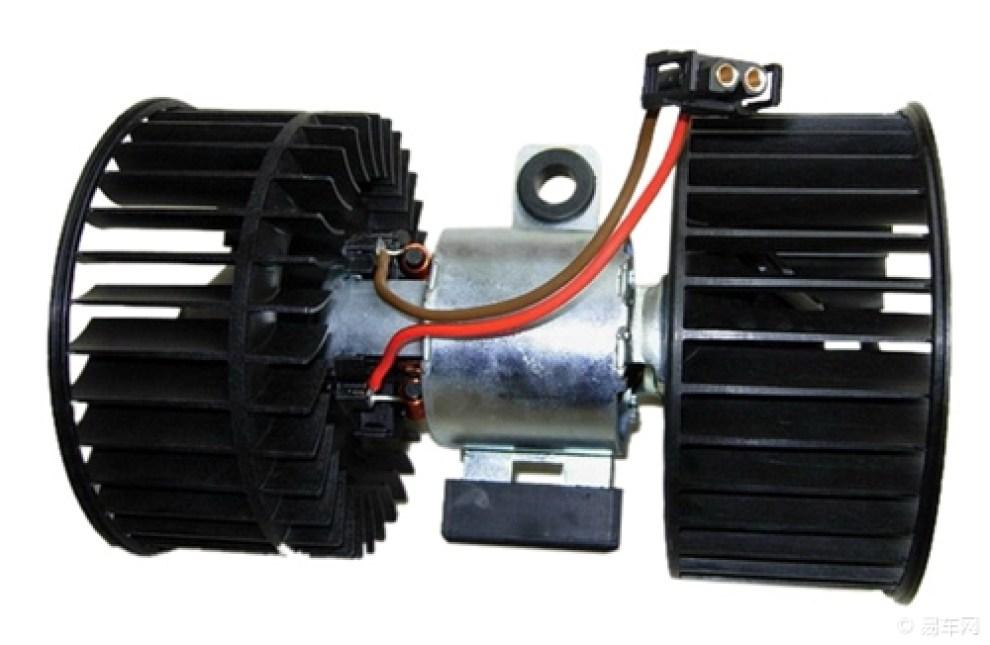 汽车的鼓风机控制电路是怎么构成的高清图片
