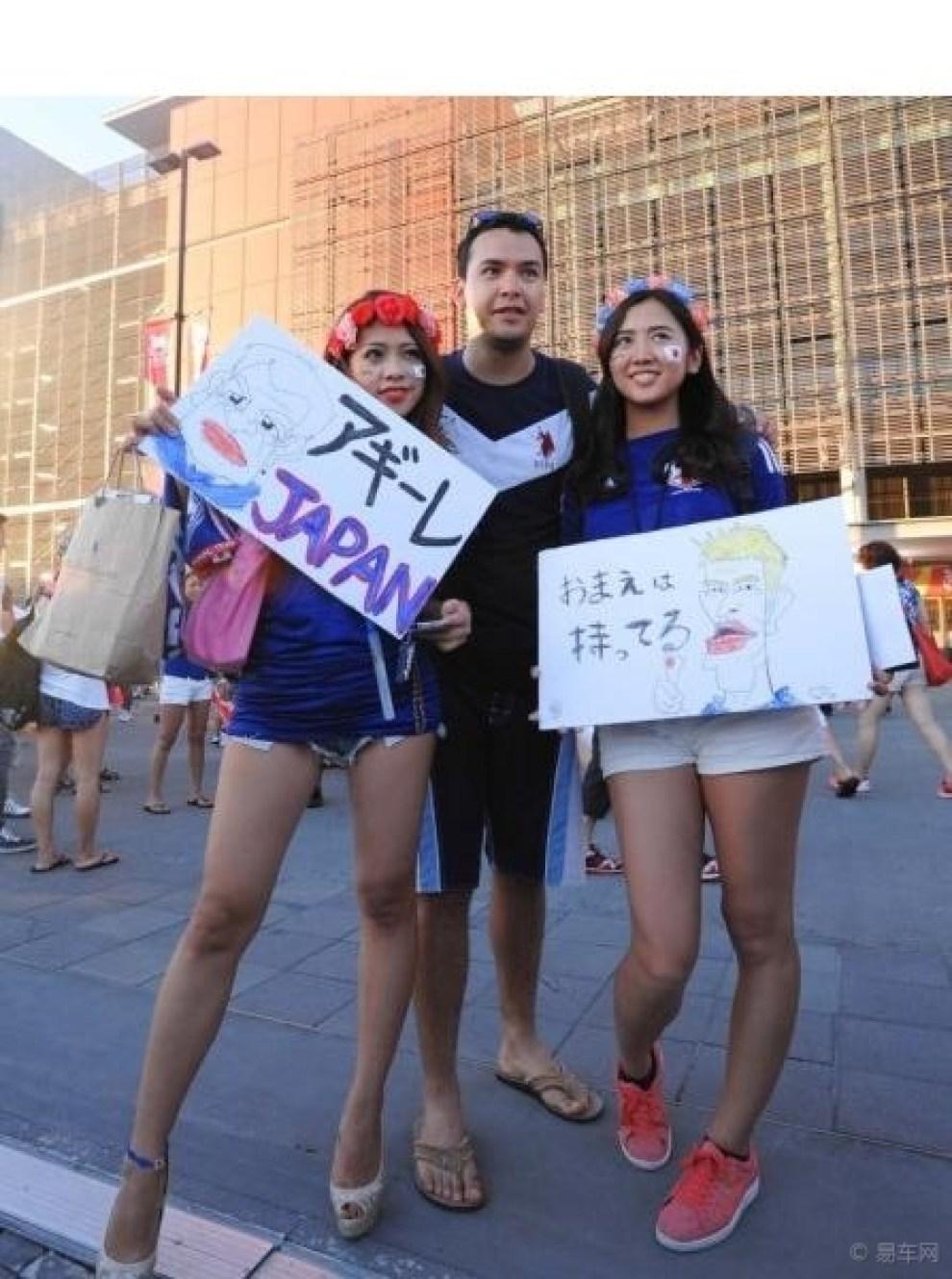 【日本美女泳镜娇俏可爱131】_易车泳装大联美女球迷足球图片