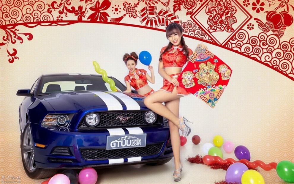【2015年新年美女秀】 湖北论坛图片集锦