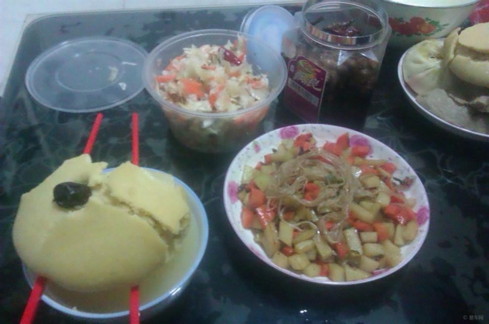 【【腌菜】晚餐就吃原创炖肉窝窝头!】_山西论做土豆稀饭图片