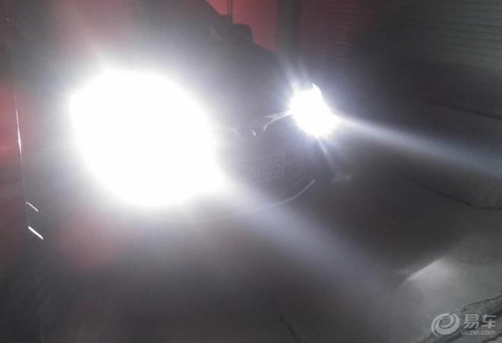东南 dx7 提车 改装氙气大灯 作业高清图片