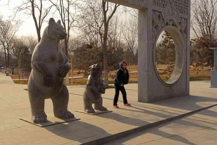 石家庄动物园 游趣