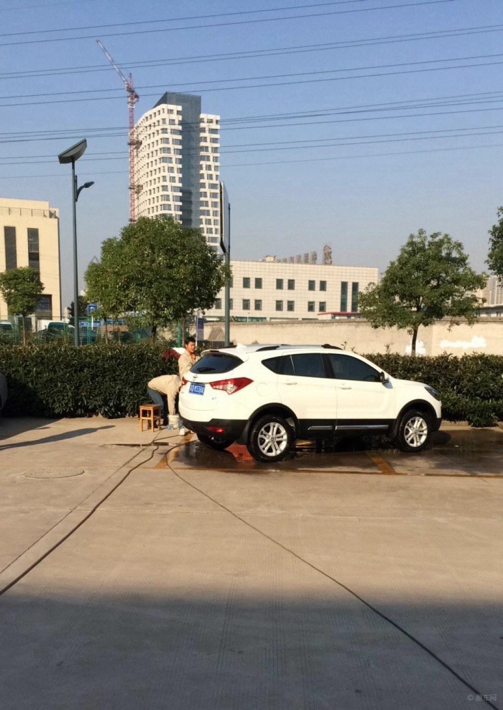常州海马S5分队老刘白聘S5全车镀晶 -海马S5论坛图片集锦高清图片