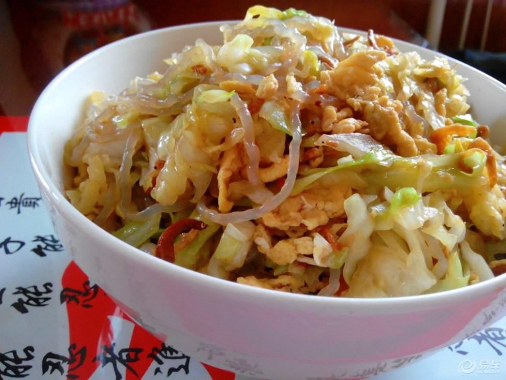 【食尚玩家】圆白菜炒粉条(妈妈菜)