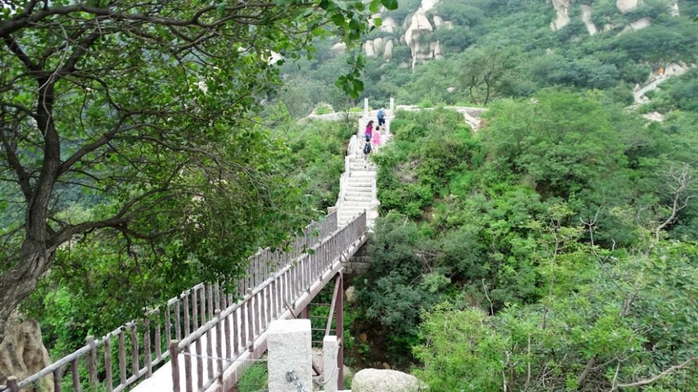 自驾游览北京凤凰岭自然风景区