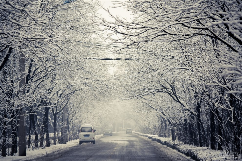 冬景图片简笔画