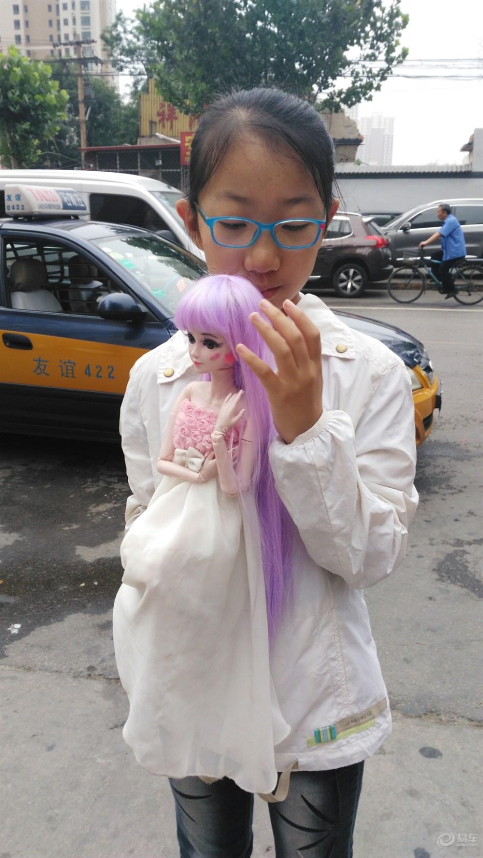 【【爱劳动要快乐】女儿带着叶罗丽出行】_超级宝贝图片