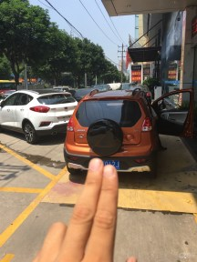 厦门活力橙熊猫1.0IMT,第一台迟到的提车作...