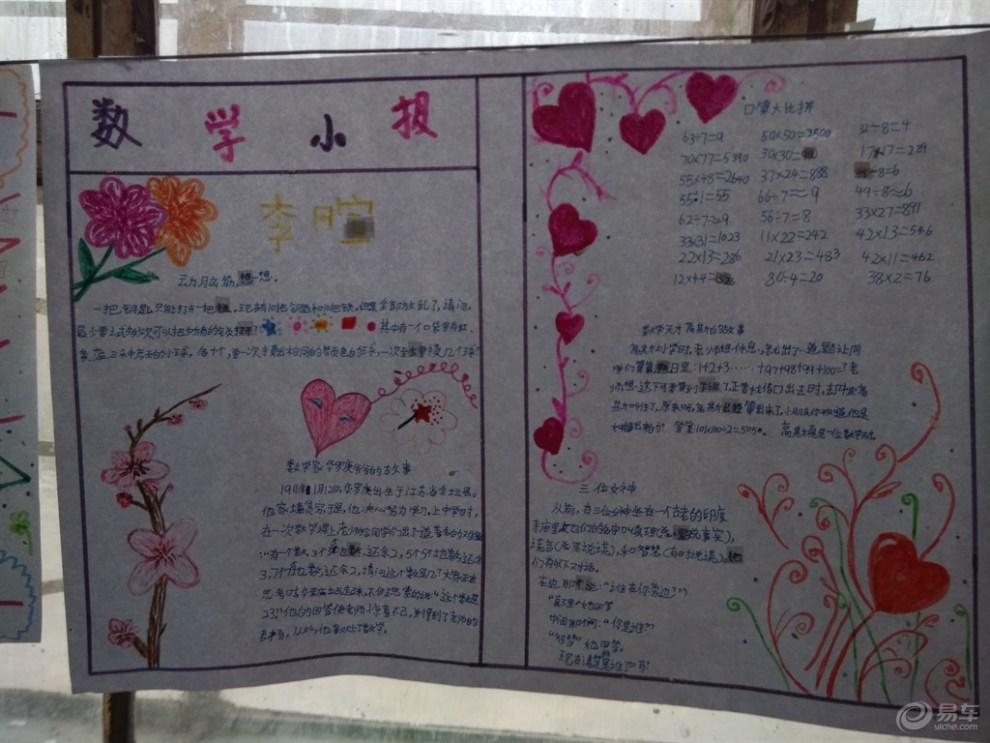 【美丽的校园手抄报】_青海社区图片集锦_汽车论坛-网