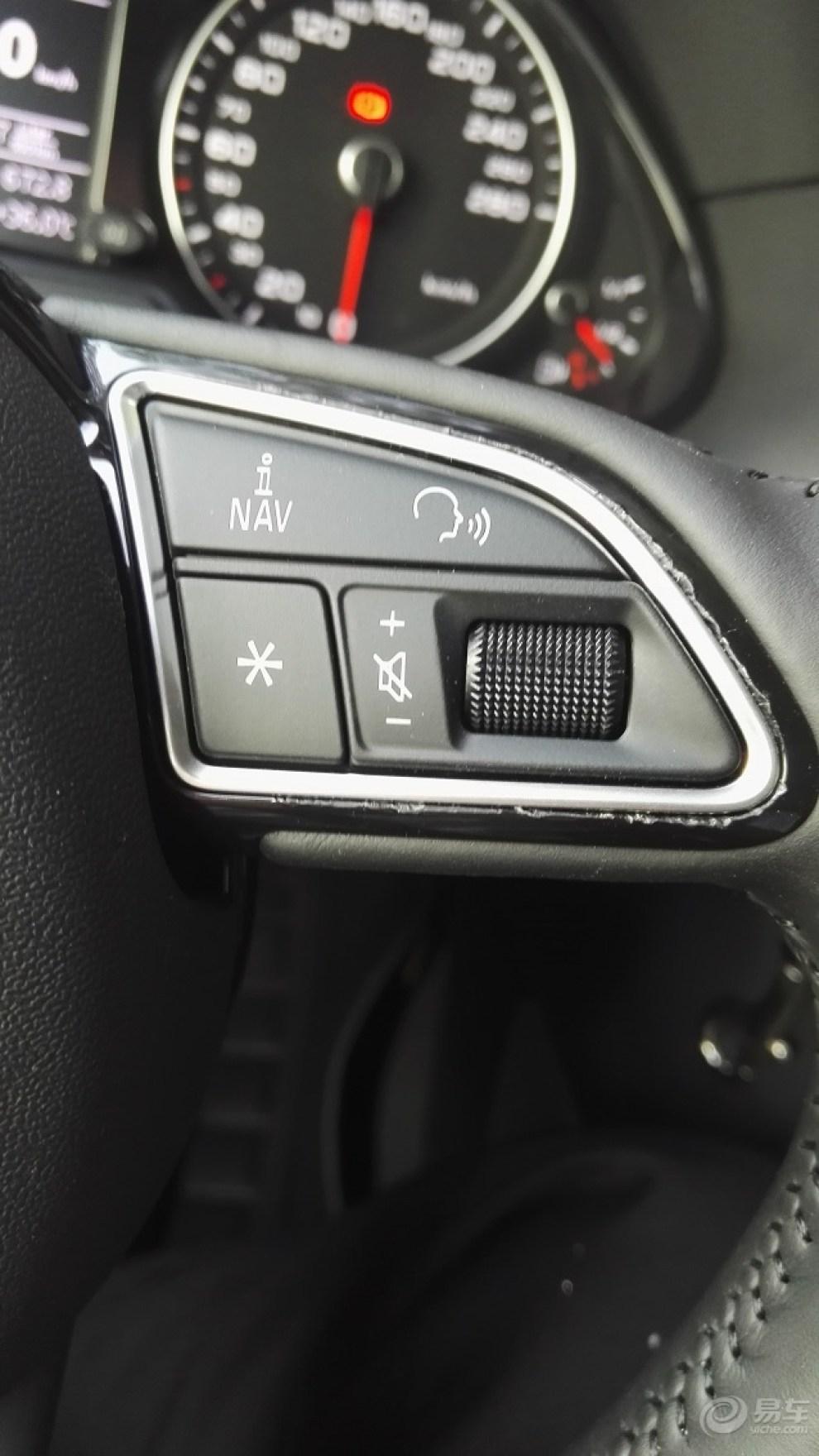 奥迪q5 q3换多功能方向盘按键