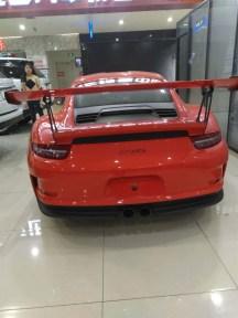 保时捷911GT3RS超跑 全球限量599台