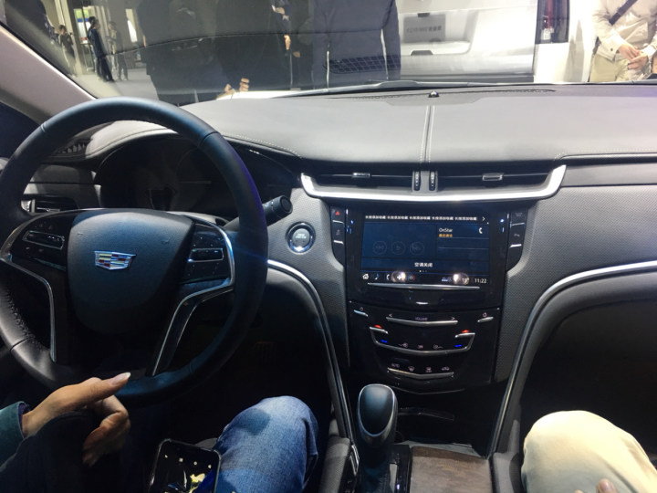 #车展##车展帮询价#车展实拍新凯迪拉克XTS(广州)