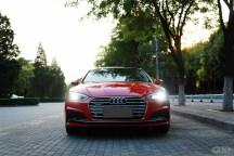 钟情于那一抹惊艳的红色 提A5 coupe 45TFSI