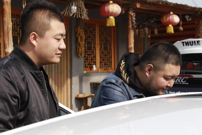 北京GRC高尔夫R-Line车友会 18年范崎路