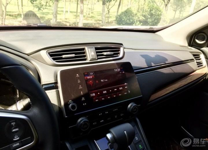 白外黑内1.5T四驱尊贵版CRV提车