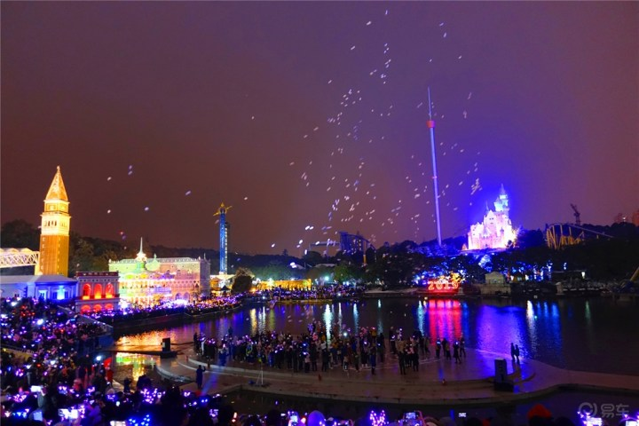 #新春送福#与你看最美好的风景—世界之窗2019跨年之行