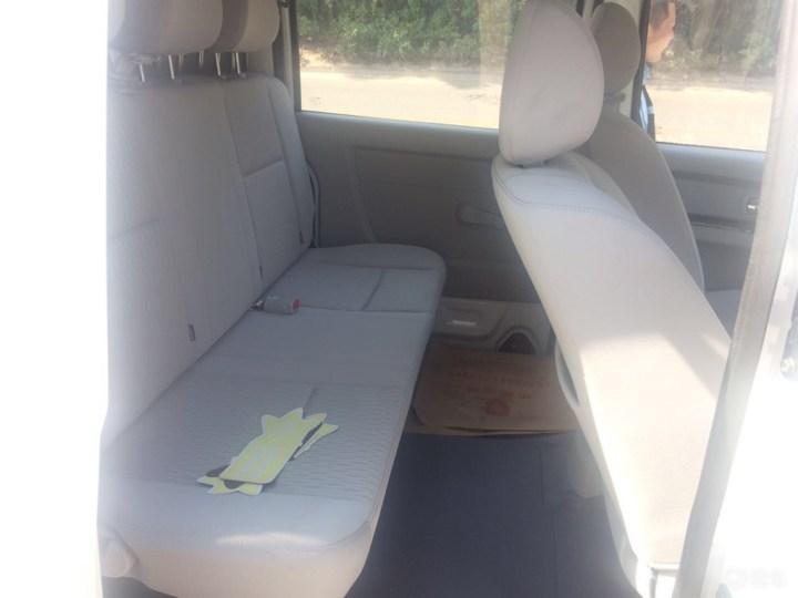 我的新海狮X30L5座能拉货也一样能坐人