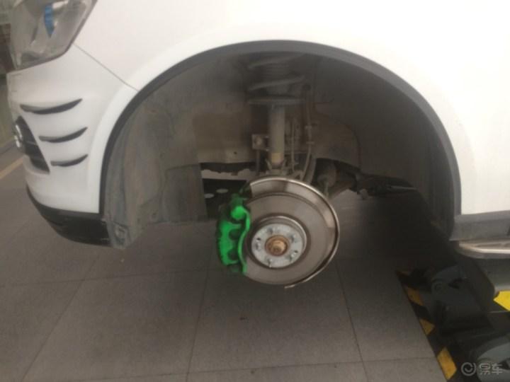 T600更换原厂18寸大轮毂