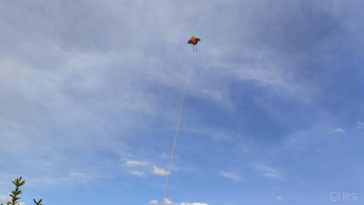 风和日丽,小七带我去放风筝