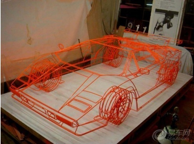自制钢管床结构图纸