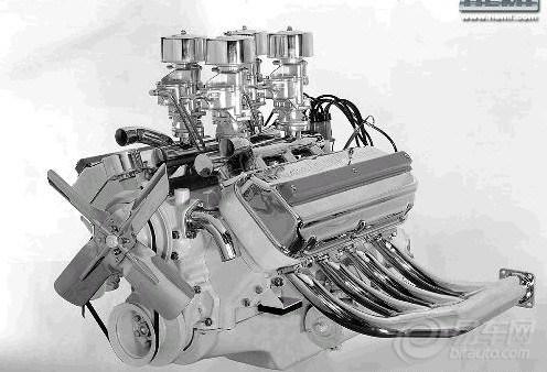 发动机缸盖结构简图