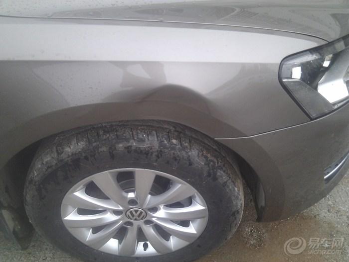 帕萨特钛金1.4t手动版提车作业高清图片