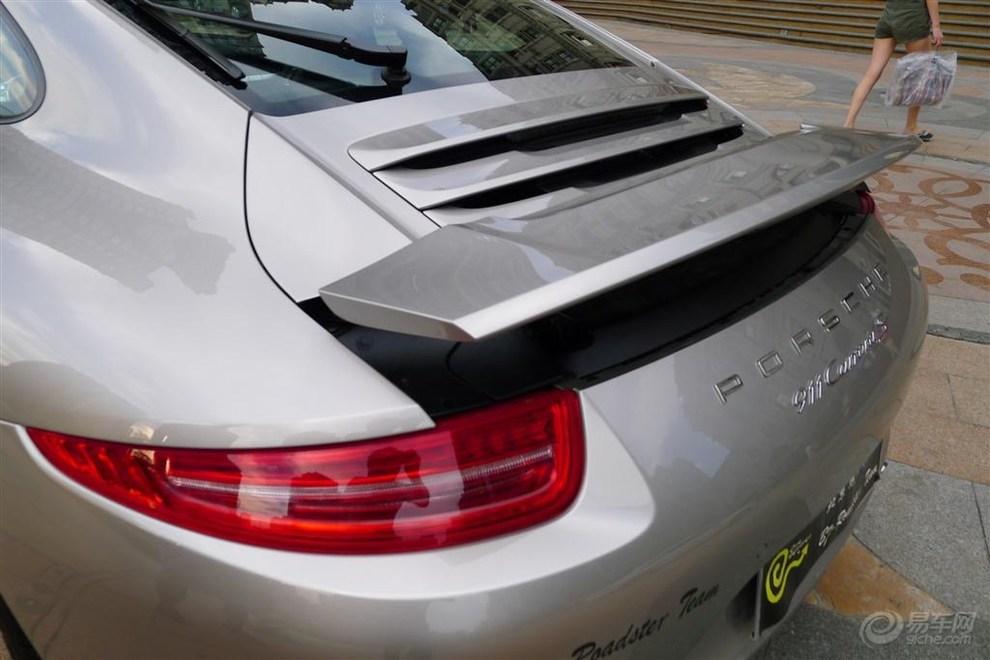 保时捷新款991 911卡雷拉s 提车作业高清图片