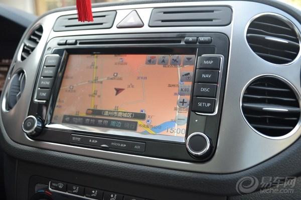 德赛西威专用导航,大众途观安装导航实拍