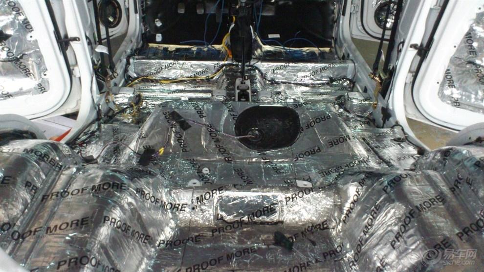 宝骏乐驰1.2顶配全车隔音加音响升级高清图片